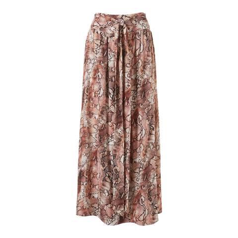 Melissa Odabash Snake Elsa Maxi Skirt