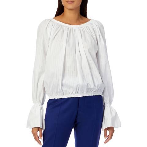 Vivienne Westwood White Bella Cotton Blouse