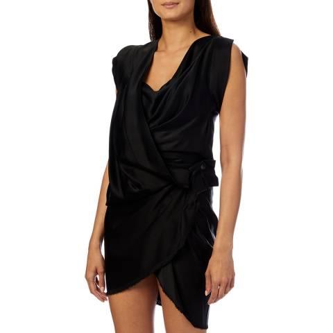 Vivienne Westwood Black Mini River Dress