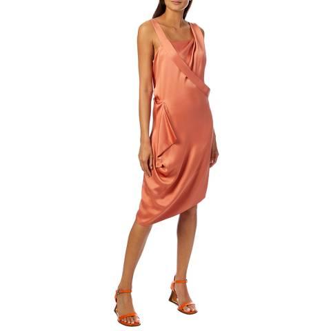 Vivienne Westwood Pink Floral Thea Dress