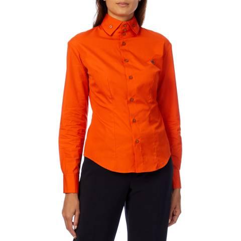Vivienne Westwood Orange New Krall Shirt