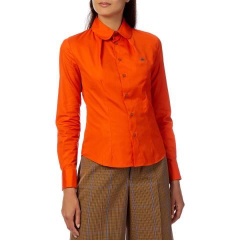 Vivienne Westwood Orange Toulouse Cotton Shirt