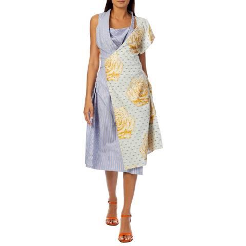 Vivienne Westwood Multi Mirror Short Sleeve Dress