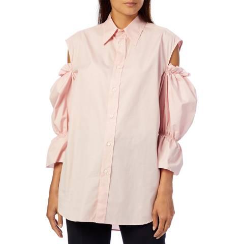 Vivienne Westwood Pink Cut-Out Cotton Shirt