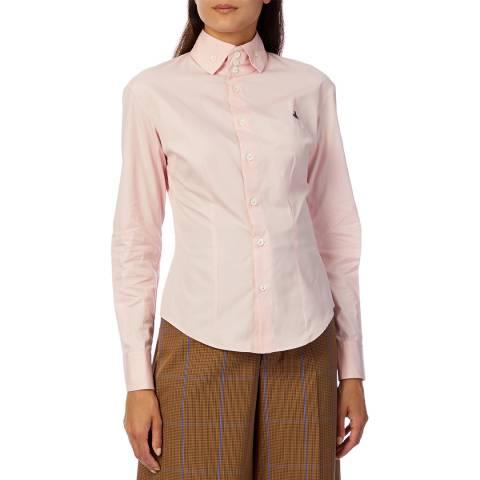 Vivienne Westwood Pink New Krall Cotton Shirt