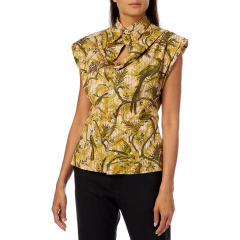 Vivienne Westwood Multi Print Cotton Yawning Shirt
