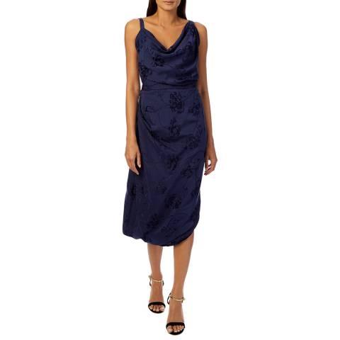 Vivienne Westwood Navy Twisted Strap Dress