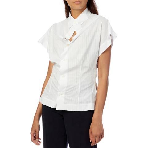 Vivienne Westwood White Yawning Cotton Shirt