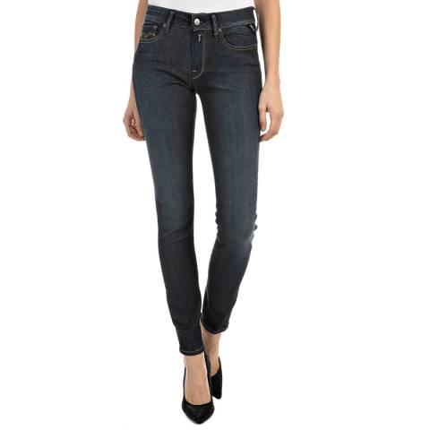 Replay Dark Blue New Luz Hyperflex Jeans
