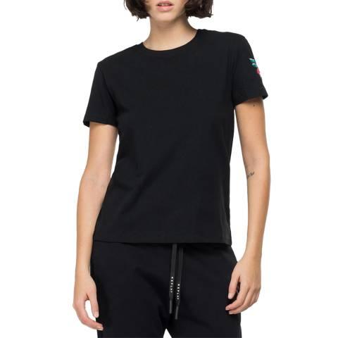 Replay Black Rose T-Shirt