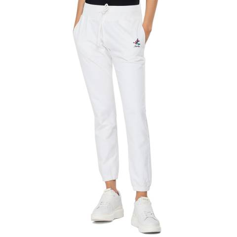 Replay White Rose Track Pants