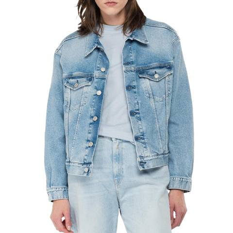 Replay Blue Denim Jacket
