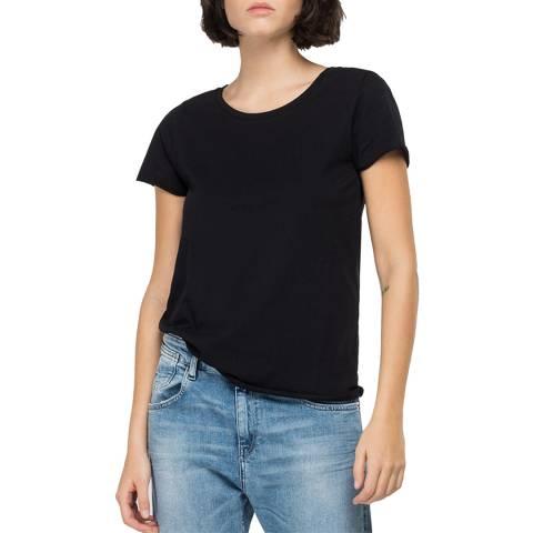 Replay Black Classic T-Shirt