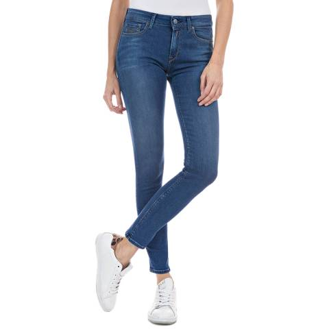 Replay Medium Blue New Luz Stretch Jeans