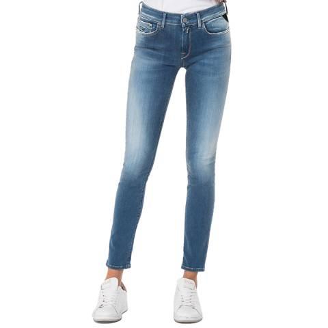 Replay Medium Blue New Luz Hyperflex Jeans