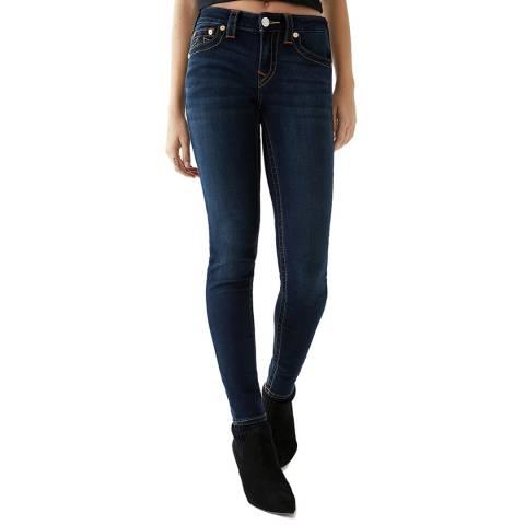 True Religion Dark Blue Jennie Skinny Stretch Jeans
