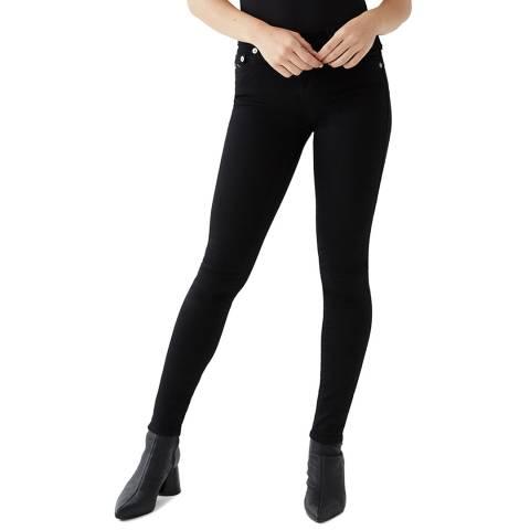 True Religion Black Halle Skinny Stretch Jeans