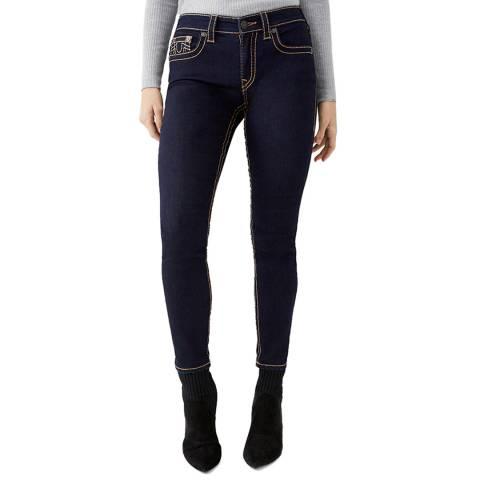 True Religion Navy Jennie Skinny Stretch Jeans