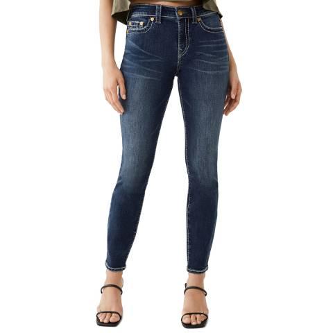 True Religion Blue Jennie Skinny Stretch Jeans