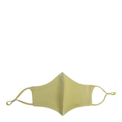 JayLey Collection Mustard Silk Blend Face Mask