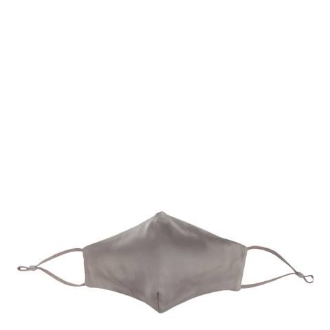 JayLey Collection Dark Grey Silk Blend Face Mask
