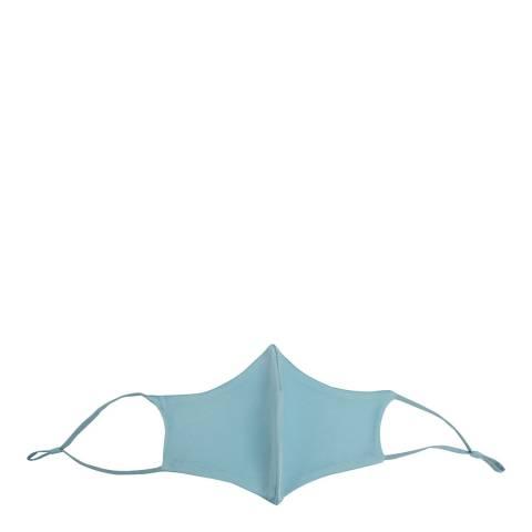 JayLey Collection Sky Blue Silk Blend Face Mask
