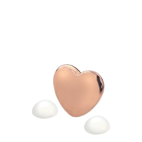 Anais Paris by Hot Diamonds Rose Gold June Charm with Moonstone Cabochons