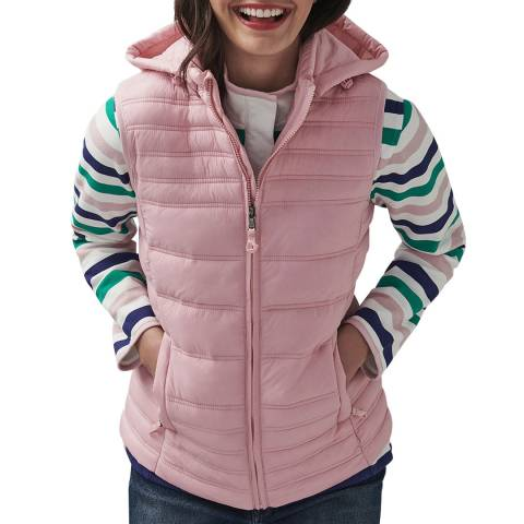 Crew Clothing Pink Lightweight Padded Gilet