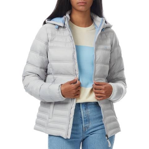 Crew Clothing Light Blue Lightweight Puffer Jacket