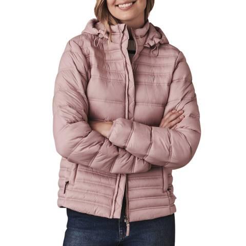 Crew Clothing Pink Lightweight Puffer Jacket