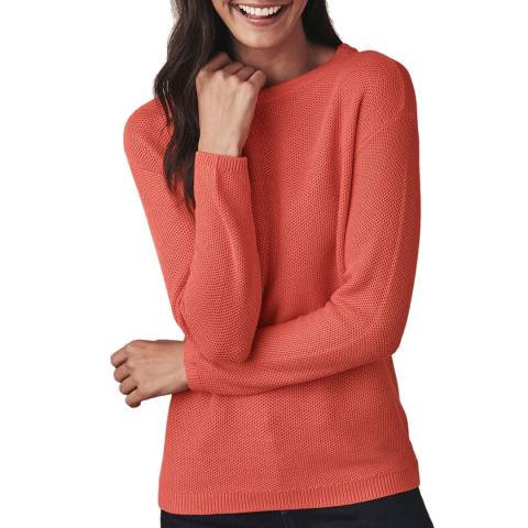 Crew Clothing Coral Classic Knit Jumper