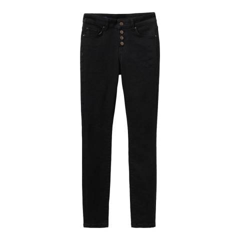 Crew Clothing Black Stretch Skinny Jeans