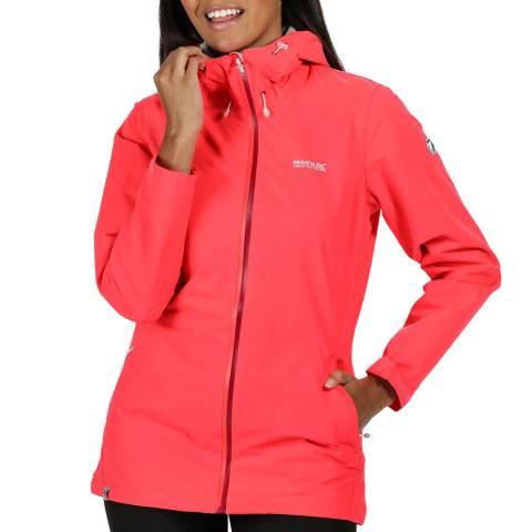 Regatta Pink Waterproof Lightweight Jacket