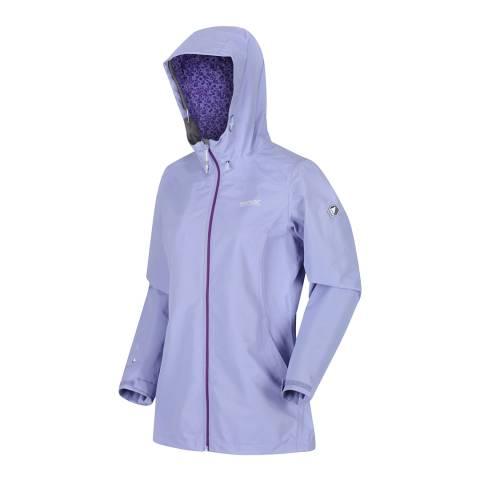 Regatta Lilac Waterproof Lightweight Jacket