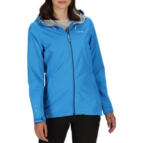 Regatta Blue Waterproof Lightweight Jacket