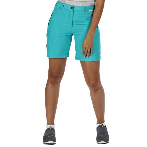 Regatta Turquoise Lightweight Walking Shorts