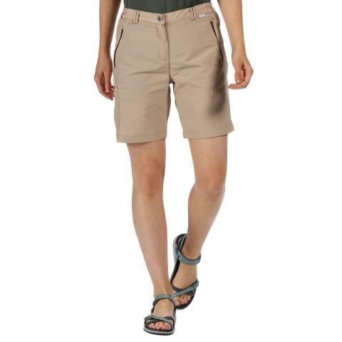 Regatta Beige Lightweight Walking Shorts
