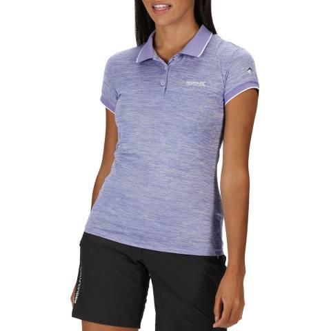 Regatta Lilac Logo Polo Shirt