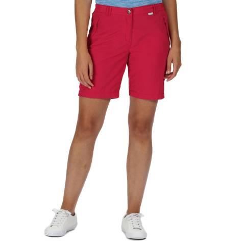 Regatta Cerise Lightweight Walking Shorts