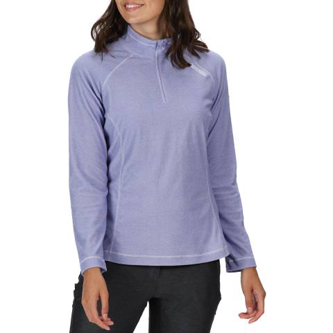 Regatta Lilac Half Zip Fleece