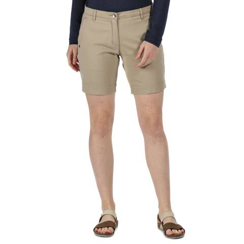 Regatta Beige Cotton Chino Shorts