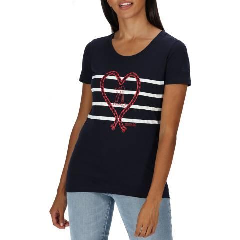 Regatta Navy Cotton T-Shirt