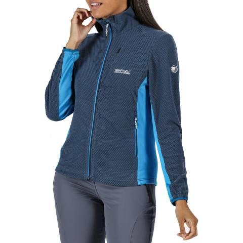 Regatta Blue Lightweight Full Zip Fleece