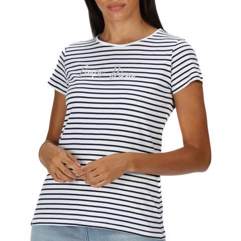 Regatta Navy Stripe Cotton T-Shirt