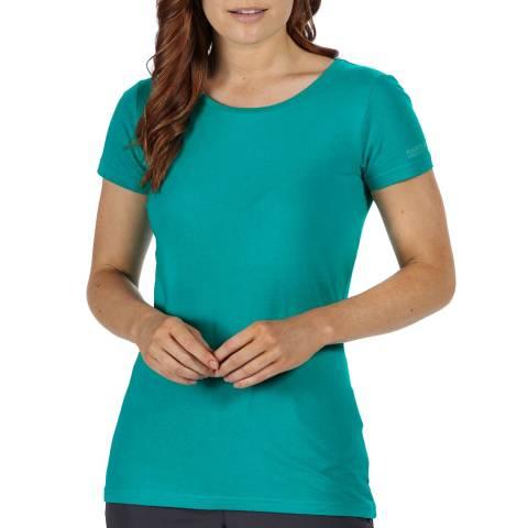 Regatta Turquoise Cotton T-Shirt