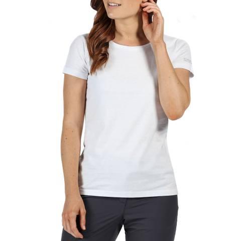Regatta White Cotton T-Shirt