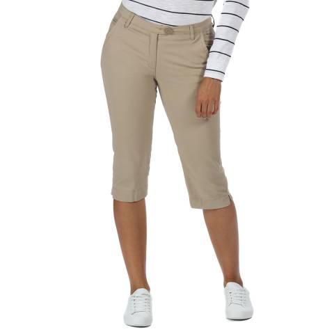 Regatta Beige 3/4 Length Trousers