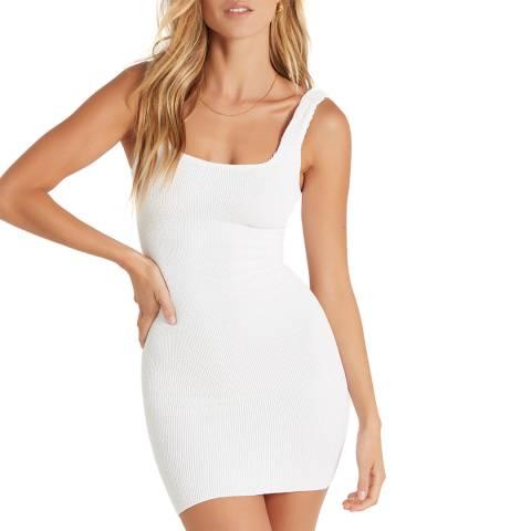 Bound By Bond-eye Optic White The Hailey Dress