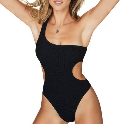 Bound By Bond-eye Black The Milan Swimsuit