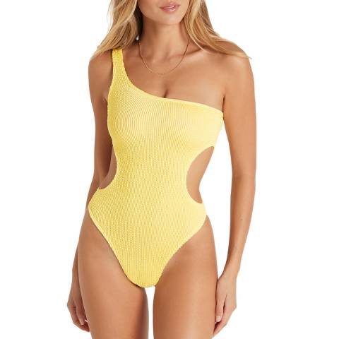 Bound By Bond-eye Daisy Yellow The Milan Swimsuit